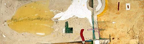 Cuadro Abstracto decorativo. Pintado a mano 30x96cm. Envio