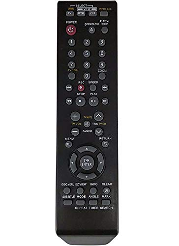 Universal Replacement DVD VCR Combo Remote Control Fit for 00061J for Samsung DVD-VR329 DVD-VR330 DVD-V4600A