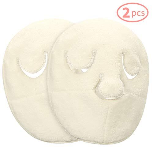 Reusable Face Towel Mask, Anti Aging Facial Steamer Towel Moisturizing Rejuvenation Beauty Skin Care Mask, Christmas Stocking Stuffers Gift for Women Mom Wife Sister Teen Girl Friend