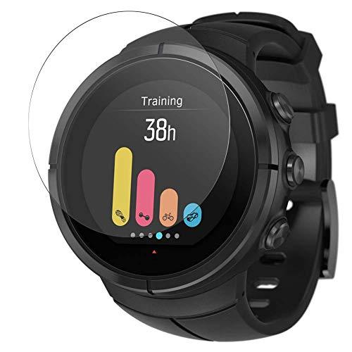 Vaxson 3 Stück Schutzfolie, kompatibel mit Suunto Spartan Ultra Smartwatch Hybrid Watch, Displayschutzfolie TPU Folie [nicht Panzerglas] New Version