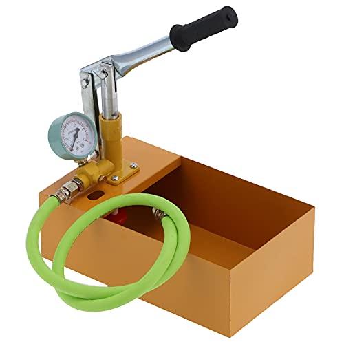 Probador de presión de tubería, bomba de prueba de presión de agua 25 kg para tubería para construcción naval