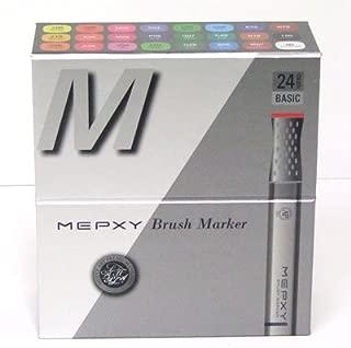 Mepxy Brush Marker Set of 24color - Basic