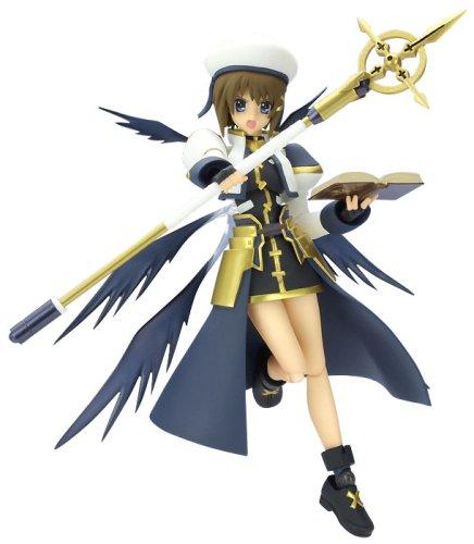 Figma is a magical girl lyrical Nanoha StrikerS Hayate Yagami Knight Armor Ver.