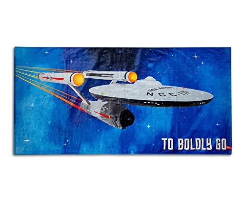 Star Trek 'Boldly Go' 60'x30' Beach Towel
