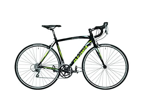 Bicicleta de carretera modelo 2021 Atala SLR 150, 16 velocidades, color negro/amarillo, talla L, 180 cm - 195 cm