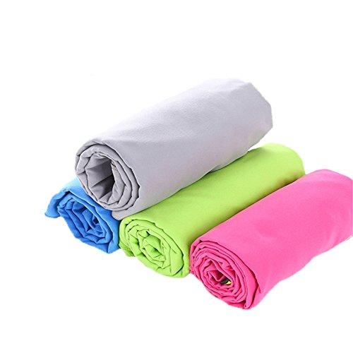 Sporthanddoek zweet absorptie sport handdoek strand zwemmen handdoek snelheid droog absorberende vocht benodigdheden opslag tas multi-Purpose workout handdoek voor mannen en vrouwen voor camping, sportschool, strand, zwemmen