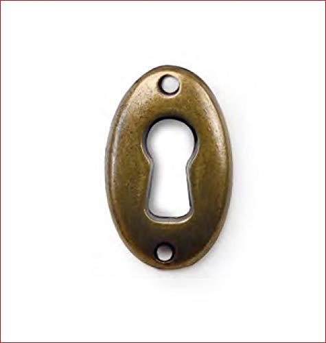 Antikmöbel Griff Schlüsselschild (2393C)