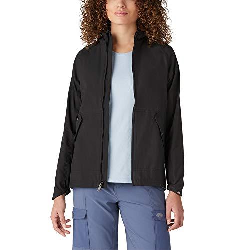 Dickies Damen Performance Hooded Rain Jacket Regenjacke, schwarz, Mittel