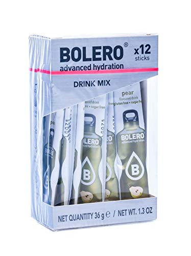Bolero Sticks Pear - Paquete de 12 x 3 gr - Total: 36 gr
