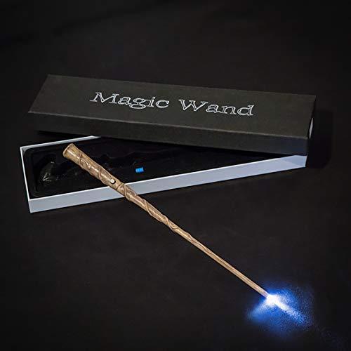 """GAYBJ Snape, Hermione, Dumbledore, Harry Potter, Ron Moody Wand Varita brillando 14"""" Harry Potter Serie de Caña Harry Potter cinematográfico apoyos de la película varitas,Hermione"""