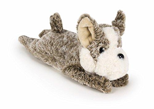 Bulldog francés marrón suave. Peluche de 20 cm