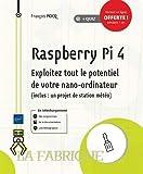 Raspberry Pi 4 - Exploitez tout le potentiel de votre nano-ordinateur (inclus un projet de station météo)
