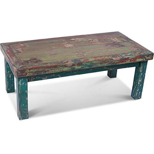 KOH DECO Table Basse Pato en Bois de Bateau recyclé