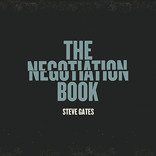 The Negotiation Book audiobook cover art
