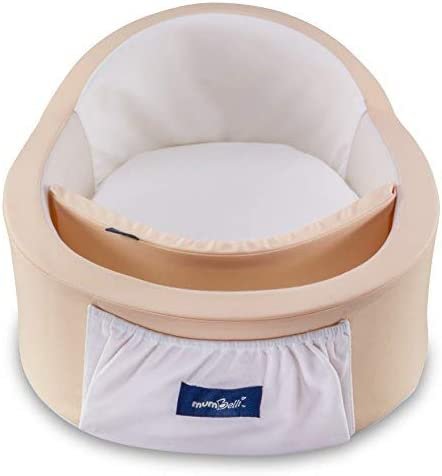Mumbelli – The only Womb-Like and Adjustable Infant Bed; Patented Design (Peach). Light Weight for Easy Travel, Perfe...