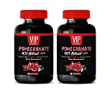 Weight Loss Appetite suppressant Pills - Pomegranate Extract Formula - with ACAI, NONI, RESVERATROL and Goji Berry - Resveratrol Complex - 2 Bottles 120 Capsules