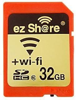 テック ezShare Wi-Fi機能を搭載したSDカード 32GB【ezShare-32GB10】 [PC]
