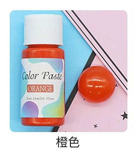 VIAIA 24 Colores Resina Pigmento UV Époxi Resina Alto Concentración Coloración Pigmento Colorante Sin precipitación Pigmentos Craft Resin (Color : 4)