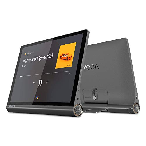 Lenovo Yoga Smart Tab - Tablet de 10.1' FullHD/IPS (Qualcomm Snapdragon 439 Octa-Core, 3 GB de RAM, 32 GB eMMC, Android 9, Wifi + 4G LTE, Bluetooth 4.2), Color Gris