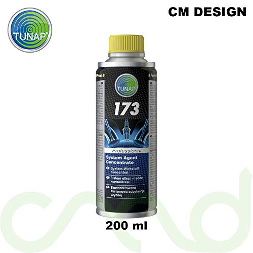 Tunap, additivo 173, per motore a benzina, con sistema micrologico high-tech 273, confezione da 200 ml