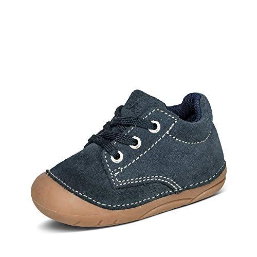 Lurchi Unisex Baby FLO Sneaker, Blau (Navy 22), 23 EU