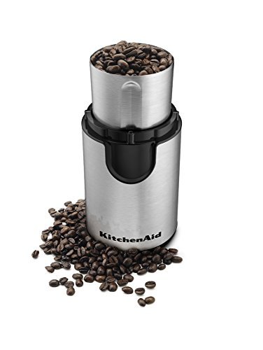 KitchenAid BCG111OB Coffee Grinder, Onyx Black