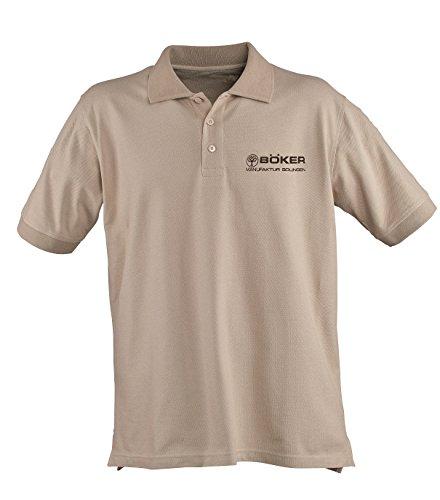 Boker Tree Brand 5.11 Desert Tan Cotton Small Polo Shirt