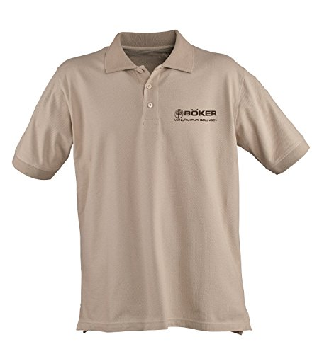 Boker Tree Brand 5.11 Desert Tan Cotton Large Polo Shirt