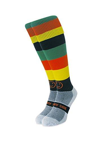 WackySox Karibische Sportsocken Young Adult Shoe Size 2-6