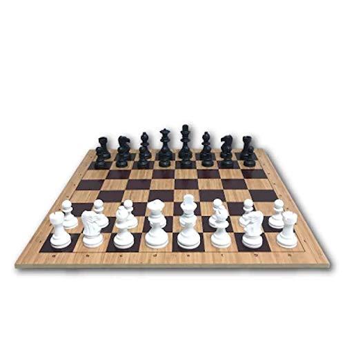 qianbanger Juego de ajedrez de Torneo Profesional, Juego de ajedrez de Madera,...
