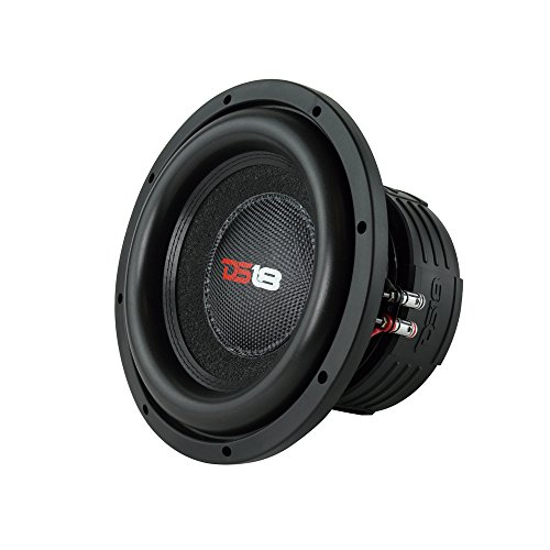 """DS18 Elite Z10 Subwoofer in Black - 10"""", 1,500W Max Power, 750W RMS, Dual 4 Ohms, DVC - Premium Car Audio Bass Speaker Great for Low Frequencies and High Power Applications (1 Speaker)"""