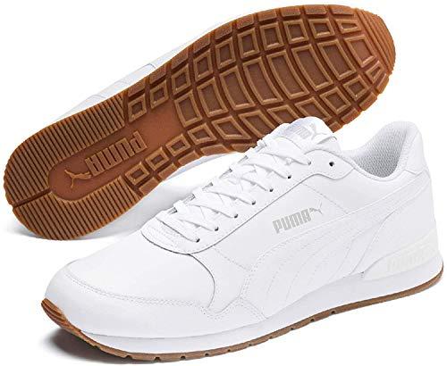 Puma Unisex-Erwachsene ST Runner v2 Full L Sneaker, Weiß White-Gray Violet, 43 EU