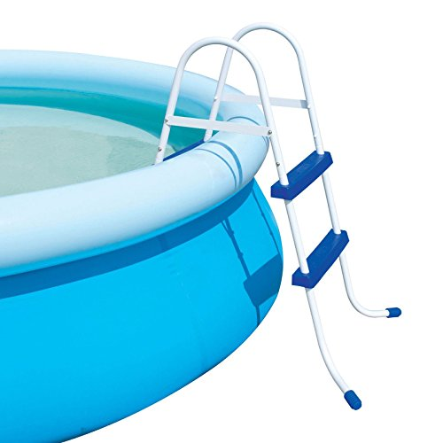 FiNeWaY@ 2 STEP BLUE POOL LADDER STEPS FOR INFLATABLE PADDLING SWIMMING...