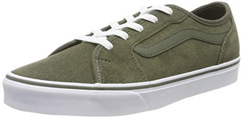 Vans Filmore Decon, Sneaker para Mujer, Verde ((Suede) Grape Leaf N3o), 36 EU