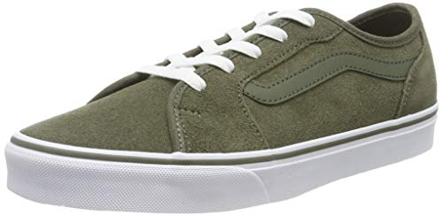 Vans Filmore Decon, Sneaker para Mujer, Verde ((Suede) Grape Leaf N3o), 36 EU