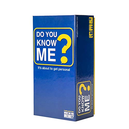 Do You Know Me? - The Party Game That Puts You and Your Friends in The Hot Seat - by What Do You Meme?