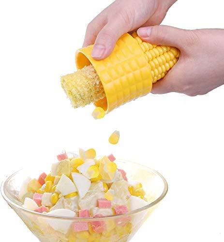 ODAHIS Corn Stripper,Corn Cutter off Cob,Corn Cob Stripper Tool,Thresher Corn Separator for Home Kitchen