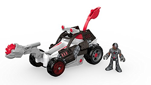 Fisher-Price Imaginext Streets of Gotham City Cyborg & Saw Buggy Action Figure
