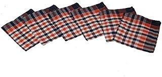 Kuber Industries 6 Piece Cotton Kitchen Towel Set - Multicolour