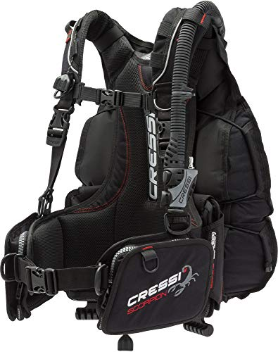 Cressi Scorpion, Black, XL