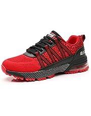 Monrinda Sneakers Heren Dames Hardloopschoenen Luchtkussen Sportschoenen Mode Loopschoenen Lichtgewicht Ademende Demping Outdoor Trainers
