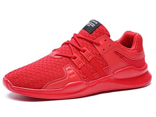 ONENICE Herren Schuhe Breathable Sportschuhe Leicht Turnschuhe Gute Qualität Sneaker mit Cushion Mid-Top Laufschuhe 6.5UK