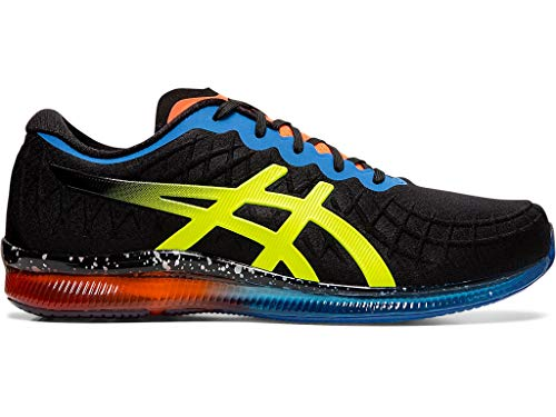 ASICS Men's Gel-Quantum Infinity Shoes, 12M, Black/Safety Yellow