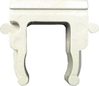 Electraline 60743 Open Clip 12 Pieces