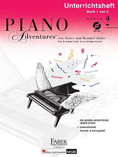 Piano Adventures: Unterrichtsheft 2 (mit CD)