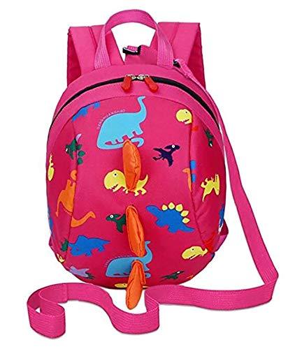 Kinderrucksack Dinosaurier Kinder Schule Rucksack Kleinkind Rucksack Buch Tasche mit Anti-Verlorene Leine