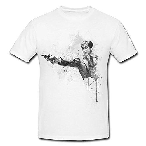 Al Pacino Der Pate T-Shirt Herren, Men mit stylischen Motiv von Paul Sinus