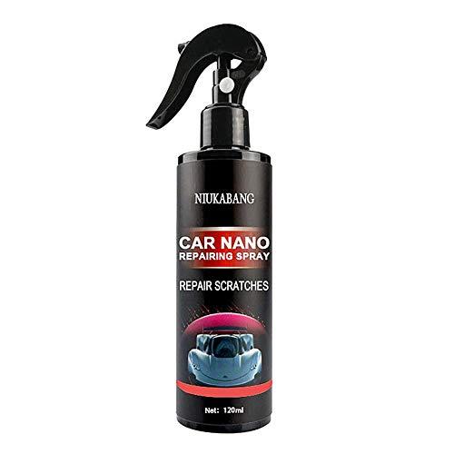 Juhuitong 10H Autokratzerreparatur Nano Spray 120 Ml Kratzerentfernungsspray Keramikbeschichtung Autolack Dichtmittel Zum Entfernen Aller Karosserie Anti Kratzer Fleckenschutzmittel
