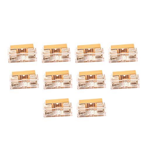 Leiterplatten-Sicherungshalter mit Abdeckung, für 5 x 20 mm, 250 V, 6 A, 10 Stück
