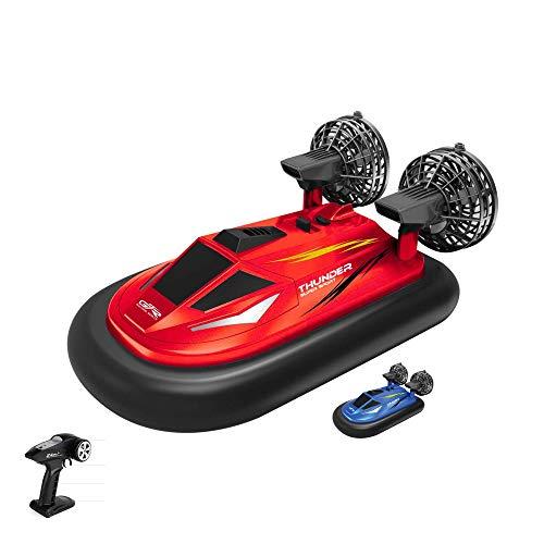 Himoto HSP Hovercraft, barca radiocomandata da 2,4 GHz, set completo con telecomando, batteria e caricatore